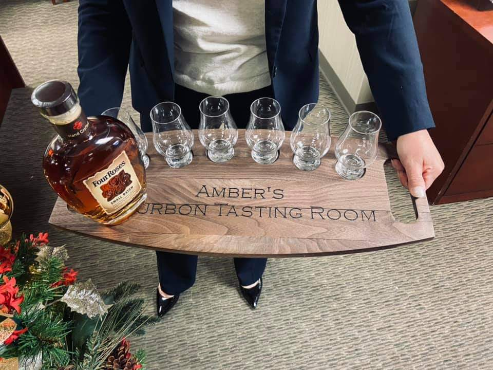 bourbon tasting set perfect for corporate events in nashville tn